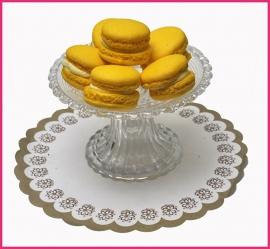 Macaron geel (Advokaat) per stuk