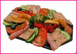 (Vernieuwd) Afschep huzaren salade  per persoon
