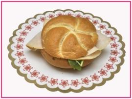 Broodje met Gerookte Kip.