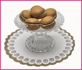 Macaron Lichtbruin  (Cappuccino) per stuk