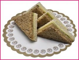 Mini Sandwiches Jong belegen kaas (Biologisch) per 2 stuks