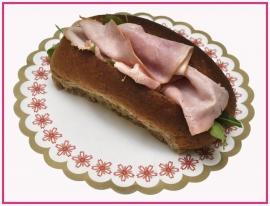 Broodje met Boerenham