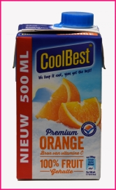 Jus de Orange Coolbest 0,5 liter.