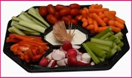 Crudit Salade (vegetarisch) 10 pers