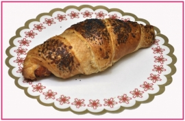 Roomboter ham/kaas Croissant