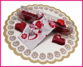 Chocolade Hartjes Valentijn.