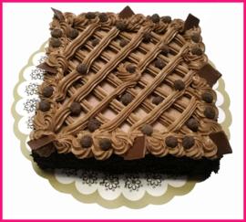 Chocolade Taart vanaf 8 pers.
