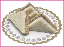 Mini sandwiches Ardennerham per 2 stuks