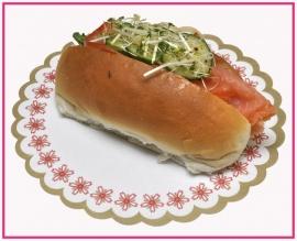 Broodje met Gerookte zalm (Duurzaam)