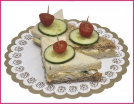 Mini Sandwiches Eiersalade per 2 stuks