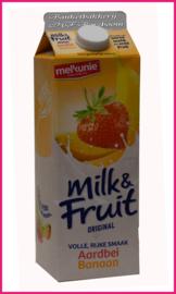 Milk&Fruit (Aardbei/Banaan ) 1 liter.