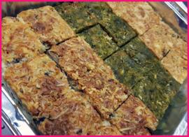Schaal mini Quiche verschillende smaken (24 stuks)