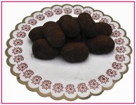 Slagroom truffels per 100 gram