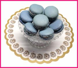Macarons Mint lichtblauw