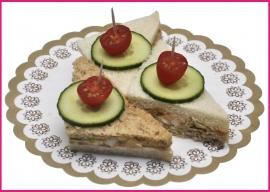 Mini Sandwiches Zalmsalade per 2 stuks