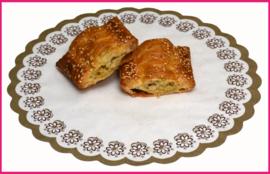 Kip kerrie ragout broodje (halve)