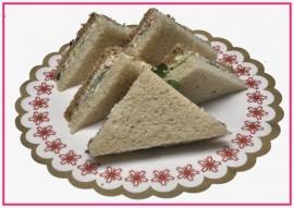 Mini Sandwiches Crab salade per 2 stuks..