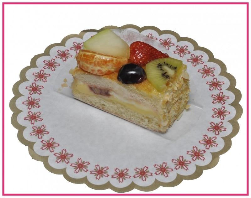 Lange vruchten gebak