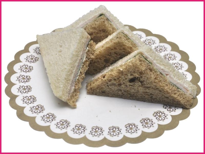Mini Sandwich Gerookte Kalkoen per 2 stuks