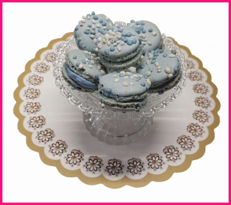( Nieuw) Geboorte, Baby shower Macarons
