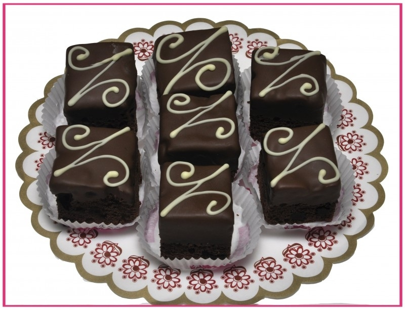 Brownie groot per stuk.