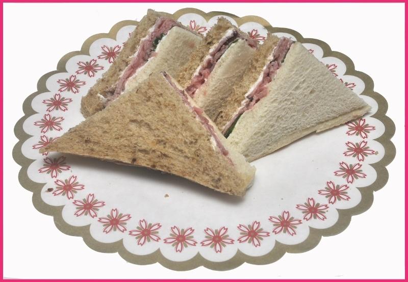 Mini Sandwiches Rosbief per 2 stuks