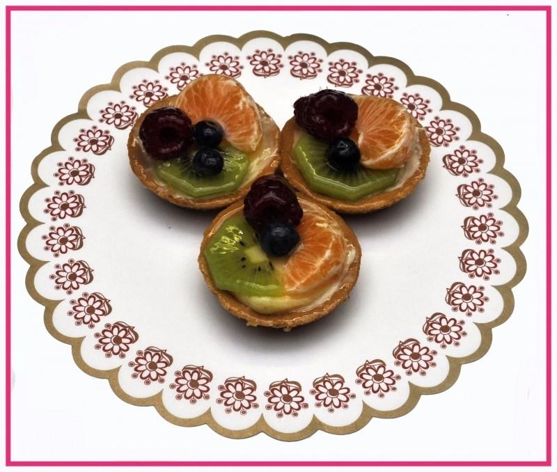 Vruchten Tartelete per stuk.