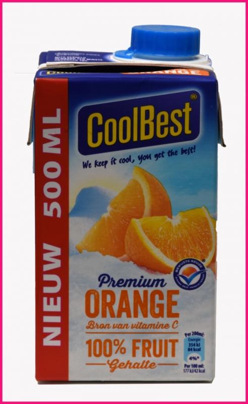 Jus de Orange Coolbest 0,5 liter.