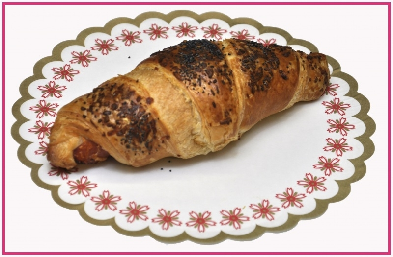 Roomboter ham/kaas Croissant