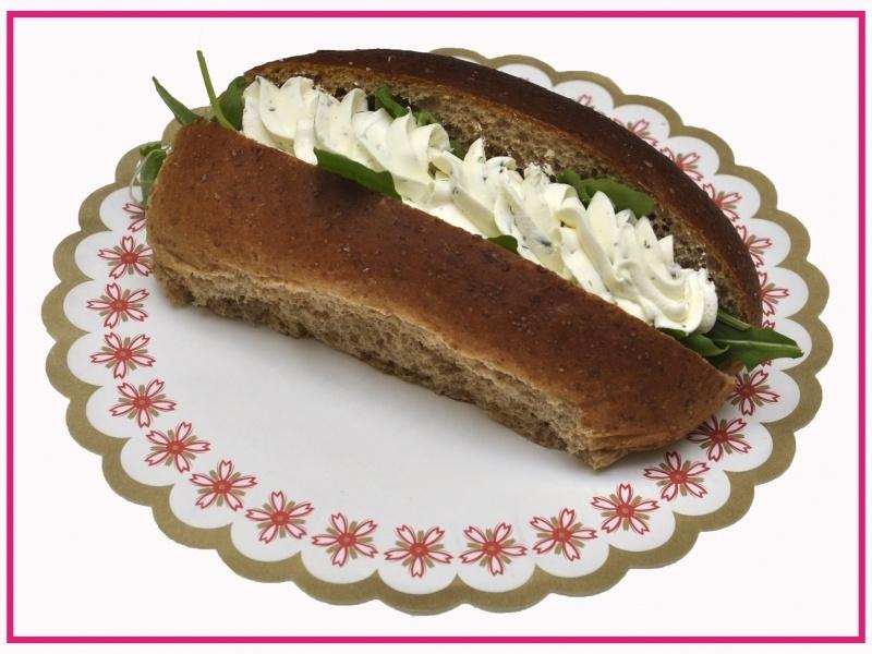 Broodje met Bieslookkaas