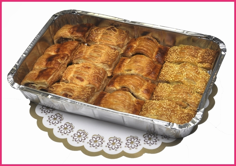 Mini Hartige broodjes schaal 16 stuks