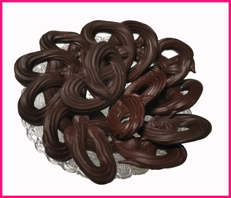 Chocolade Krakelingen  (100 gram)