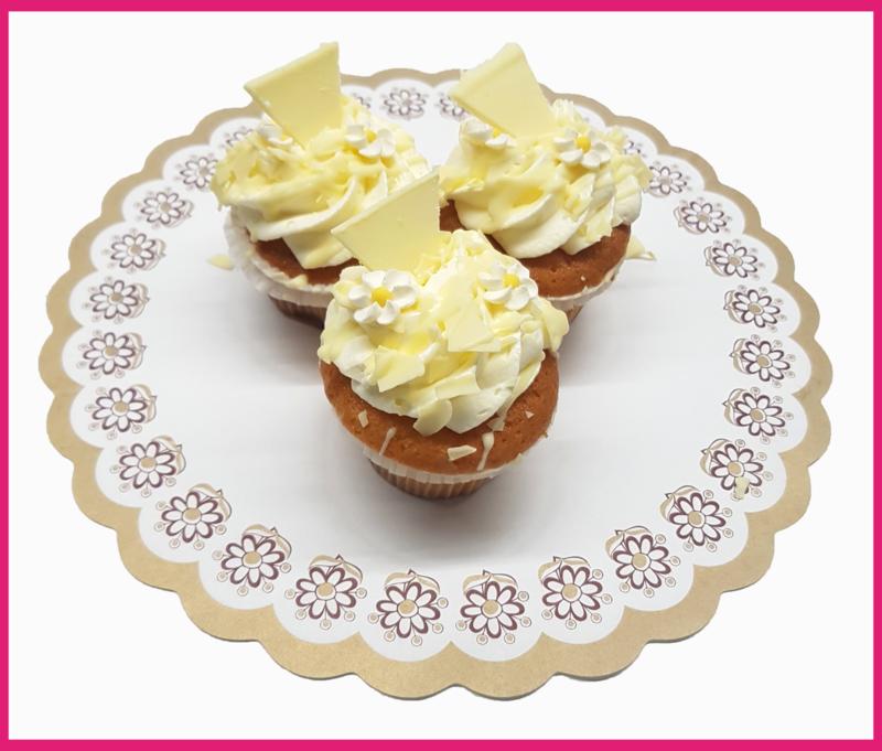 Cup Cake Vanille per stuk