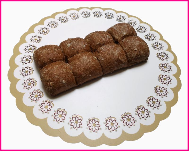 (Vernieuwd) Breekbrood Wit/bruin 200 gram