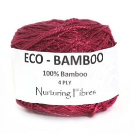 Nurturing Fibres Eco-Bamboo Bordeaux