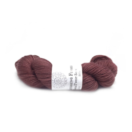 Nurturing Fibres single spun Lace Sangria