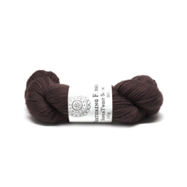 Nurturing Fibres single spun Lace Espresso
