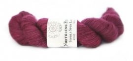 Nurturing Fibres  single spun Lace Vintage Rose
