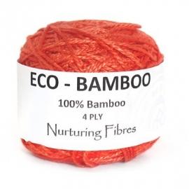 Nurturing Fibres Eco-Bamboo  Sunkissed Coral