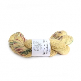 Nurturing Fibres  single spun  Lace  Summer Meadow