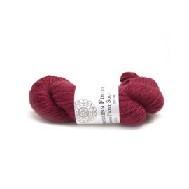 Nurturing Fibres single spun Lace Claret