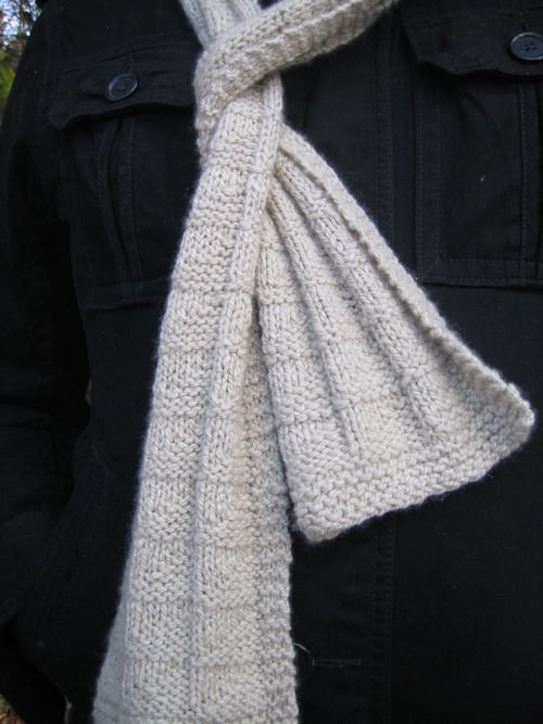 Sailor Scarf for DK yarn