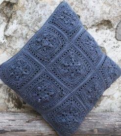 Nurturing Fibres Arabesque crochet cushion