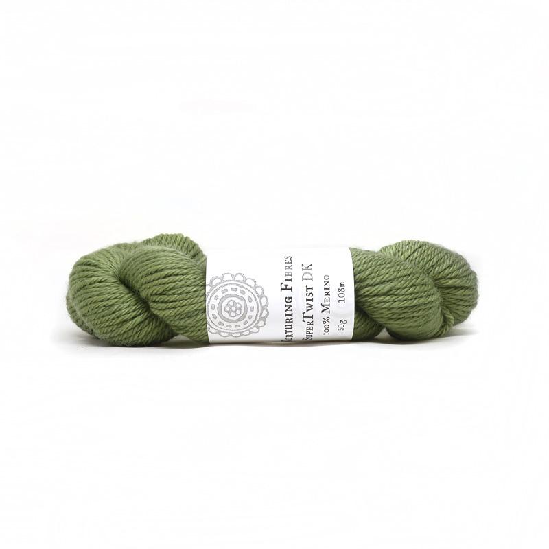 Nurturing Fibres  Supertwist DK Olive     50g