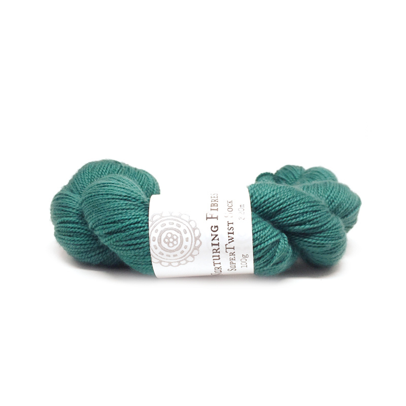 Nurturing Fibres single spun Lace Petrel