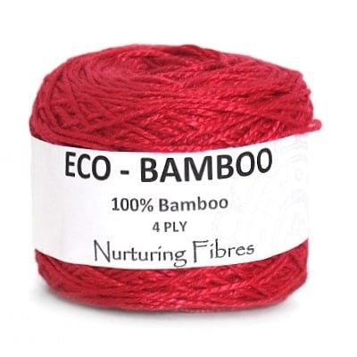 Nurturing Fibres Eco-Bamboo  Ruby Pink