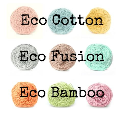 Eco Cotton shade card