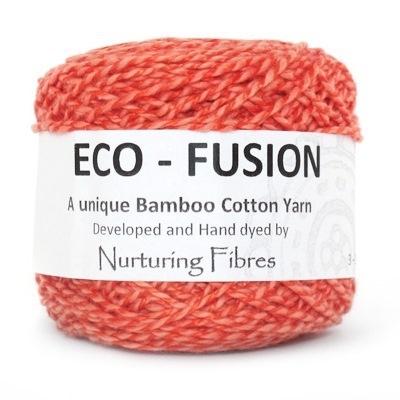 Nurturing Fibres Eco-Fusion Sunkissed Coral
