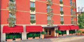 Gardameer / Garda,  Hotel Cortina  ( De jong Intra )