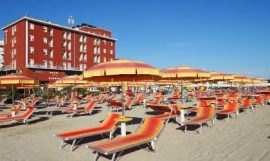 Hotel Blumen Adriatische kust, Rimini (Beachmasters)